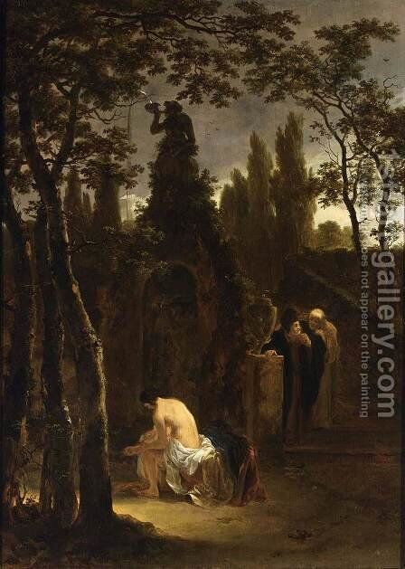 Susanna and the Elders before 1642 by Jan Both - Reproduction Oil Painting