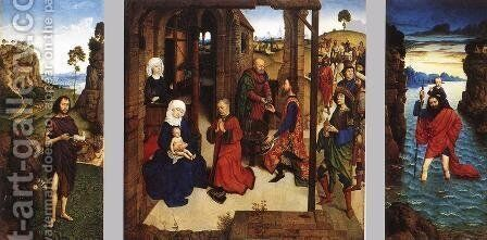 The Pearl of Brabant  1470 by Dieric the Younger Bouts - Reproduction Oil Painting