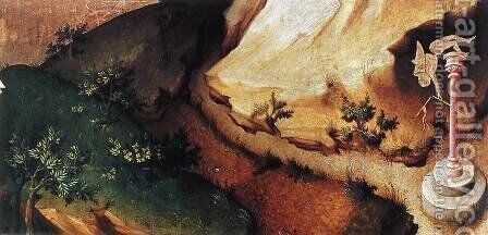 The Flight into Egypt (detail 3) 1393-99 by Melchior Broederlam - Reproduction Oil Painting