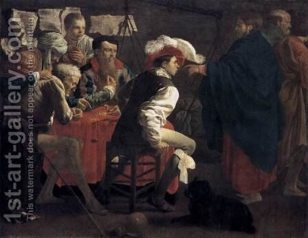 The Calling of St Matthew 1620 by Hendrick Terbrugghen - Reproduction Oil Painting