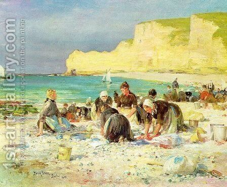 Etreat 1890 by Henry Bacon - Reproduction Oil Painting