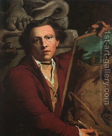 Self-Portrait 1803 by James Barry - Reproduction Oil Painting
