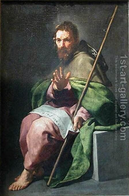 St James the Greater c. 1635 by Alonso Cano - Reproduction Oil Painting