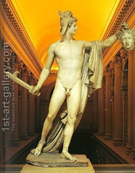 Perseus with the Head of Medusa, 1804-06 by Antonio Canova - Reproduction Oil Painting