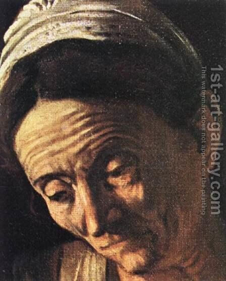 Supper at Emmaus (detail 3) 1606 by Caravaggio - Reproduction Oil Painting