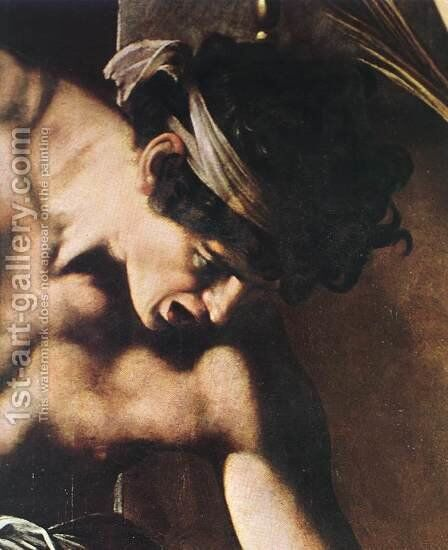 The Martyrdom of St Matthew (detail 2) 1599-1600 by Caravaggio - Reproduction Oil Painting