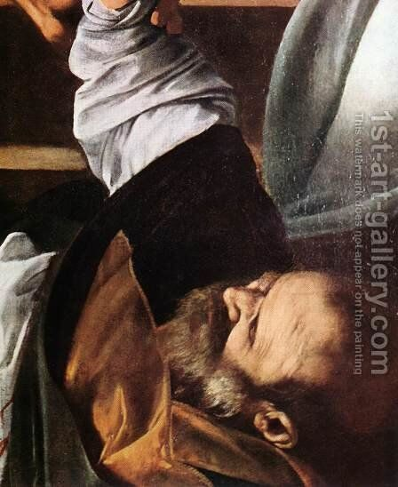 The Martyrdom of St Matthew (detail 3) 1599-1600 by Caravaggio - Reproduction Oil Painting