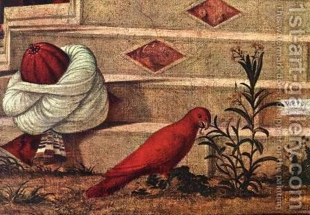 The Baptism of the Selenites (detail 2) 1507 by Vittore Carpaccio - Reproduction Oil Painting