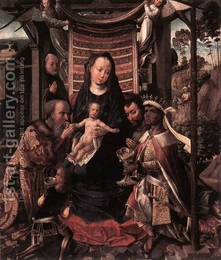 The Adoration of the Magi, by Colijn de Coter - Reproduction Oil Painting