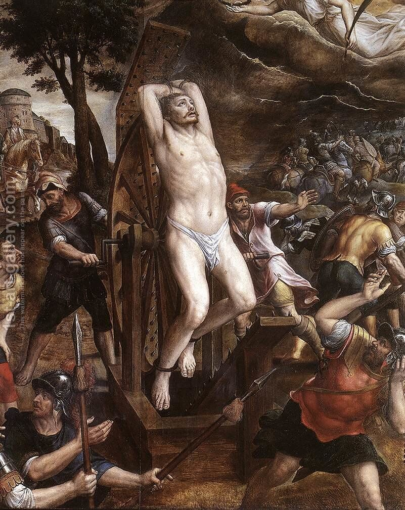The Torture Of St George 1580s