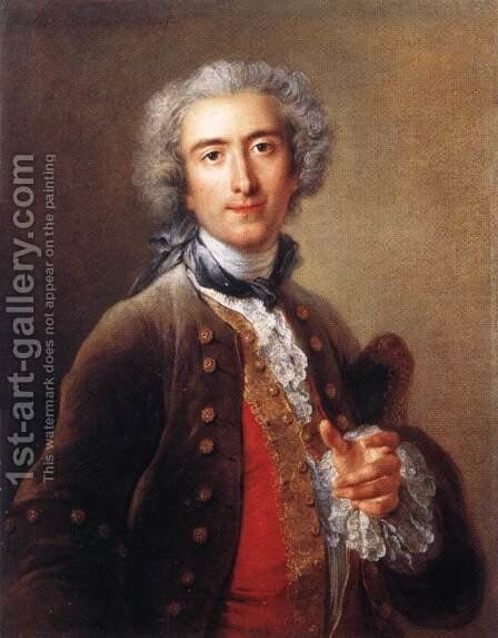 Philippe Coypel 1732 by Charles-Antoine Coypel - Reproduction Oil Painting
