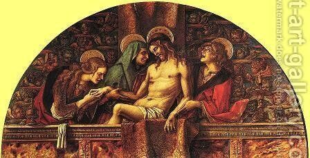 Pieta by Carlo Crivelli - Reproduction Oil Painting