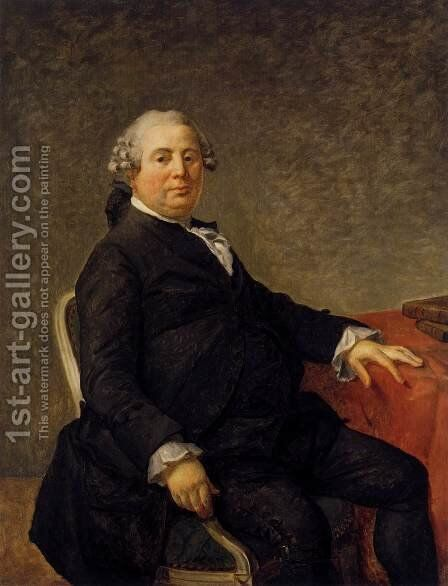 Portrait of Philippe-Laurent de Joubert c. 1786 by Jacques Louis David - Reproduction Oil Painting