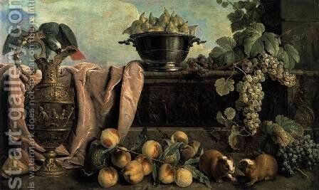 Still-Life with Ewer 1734 by Alexandre-Francois Desportes - Reproduction Oil Painting
