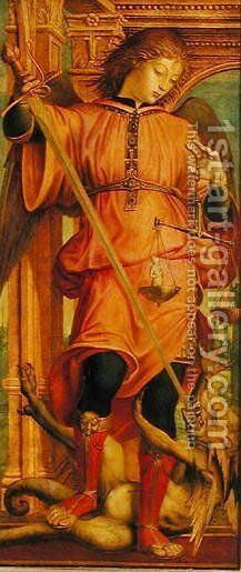 St. Michael by Bernadino Zenale - Reproduction Oil Painting