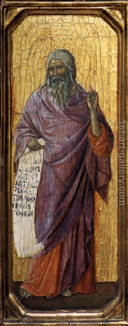 Isaiah 1308-11 by Duccio Di Buoninsegna - Reproduction Oil Painting