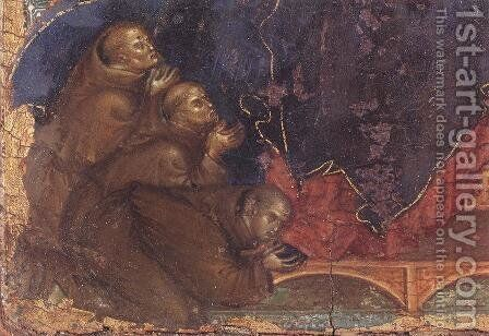 Madonna of the Franciscans (detail) c. 1300 by Duccio Di Buoninsegna - Reproduction Oil Painting