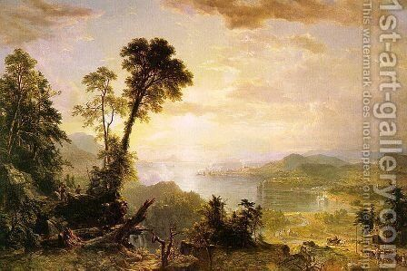 Progress (The Advance of Civilization) 1853 by Asher Brown Durand - Reproduction Oil Painting