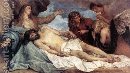 The Lamentation of Christ by Sir Anthony Van Dyck - Reproduction Oil Painting