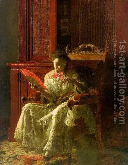 Kathrin 1872 by Thomas Cowperthwait Eakins - Reproduction Oil Painting