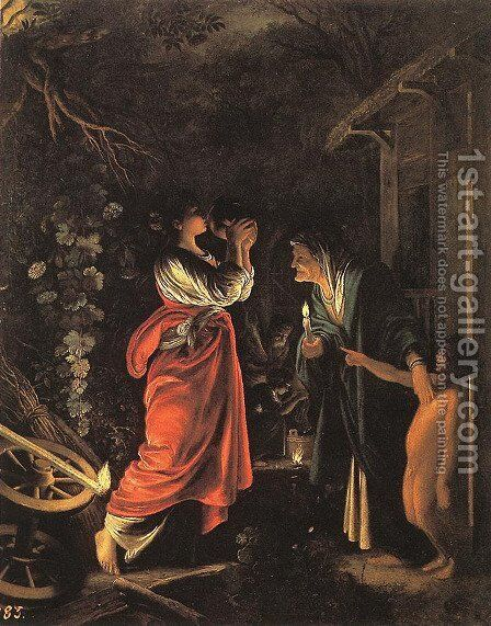 Ceres and Stellio by Adam Elsheimer - Reproduction Oil Painting
