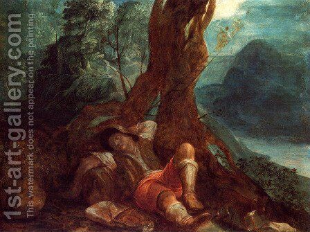 Jacob's Dream by Adam Elsheimer - Reproduction Oil Painting