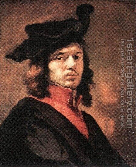 Self-Portrait by Carel Fabritius - Reproduction Oil Painting