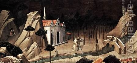 Discovery of the True Cross (detail 1) 1380s by Agnolo Gaddi - Reproduction Oil Painting