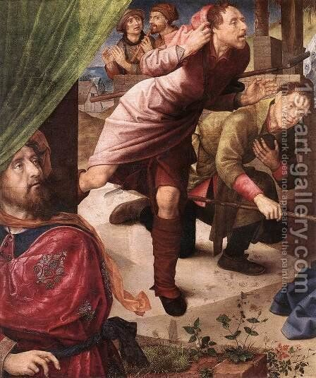 Adoration of the Shepherds (detail 2) c. 1480 by Hugo Van Der Goes - Reproduction Oil Painting