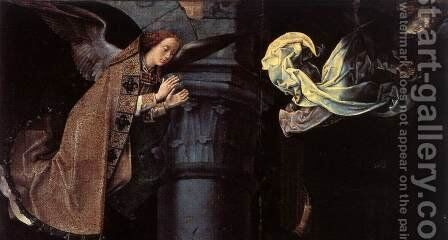 The Adoration of the Shepherds (detail 2) 1476-79 by Hugo Van Der Goes - Reproduction Oil Painting