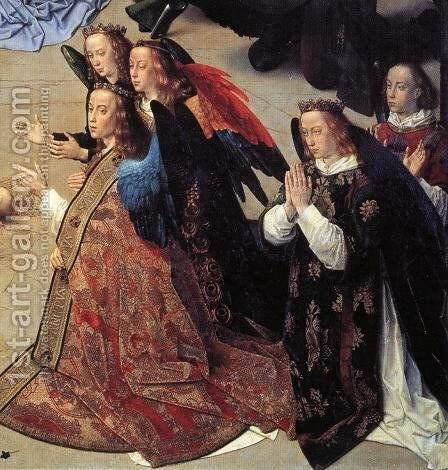 The Adoration of the Shepherds (detail 7) 1476-79 by Hugo Van Der Goes - Reproduction Oil Painting