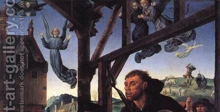 The Adoration of the Shepherds (detail 10) 1476-79 by Hugo Van Der Goes - Reproduction Oil Painting