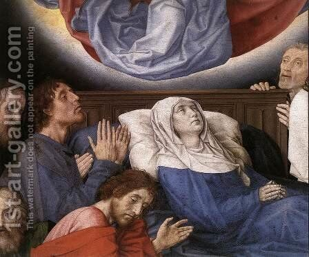 The Death of the Virgin (detail 3) c. 1480 by Hugo Van Der Goes - Reproduction Oil Painting