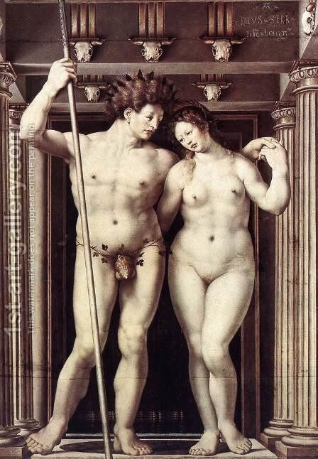 Neptune and Amphitrite 1516 by Jan (Mabuse) Gossaert - Reproduction Oil Painting