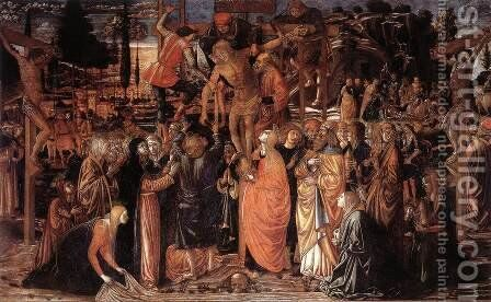 Descent from the Cross 1491 by Benozzo di Lese di Sandro Gozzoli - Reproduction Oil Painting