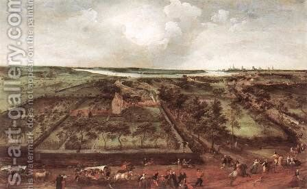 View of Kiel 1578 by Jacob Grimmer - Reproduction Oil Painting