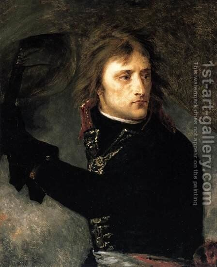 Bonaparte on the Bridge at Arcole 1796 by Antoine-Jean Gros - Reproduction Oil Painting