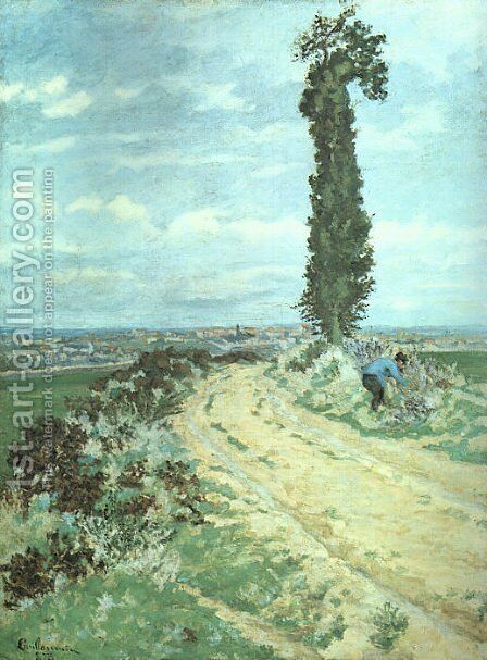 Outskirts of Paris  1873 by Armand Guillaumin - Reproduction Oil Painting