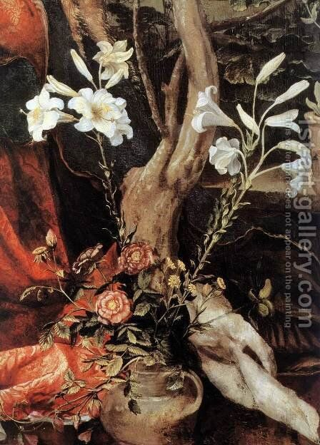 Stuppach Madonna (detail 2) 1517-19 by Matthias Grunewald (Mathis Gothardt) - Reproduction Oil Painting