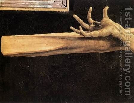 The Crucifixion (detail 4) c. 1515 by Matthias Grunewald (Mathis Gothardt) - Reproduction Oil Painting