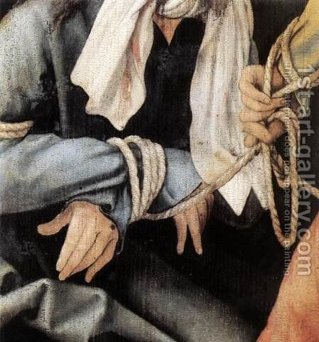 The Mocking of Christ (detail 3) 1503 by Matthias Grunewald (Mathis Gothardt) - Reproduction Oil Painting