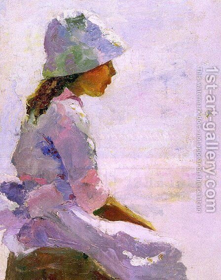 Untitled by Charles Webster Hawthorne - Reproduction Oil Painting