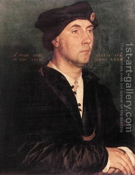Sir Richard Southwell  1536 by Hans, the Younger Holbein - Reproduction Oil Painting