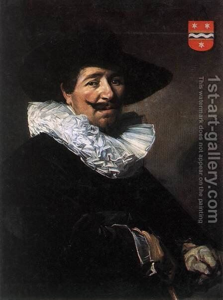 Andries van der Horn  1638 by Frans Hals - Reproduction Oil Painting