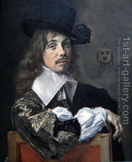 Willem Coenraetsz Coymans  1645 by Frans Hals - Reproduction Oil Painting