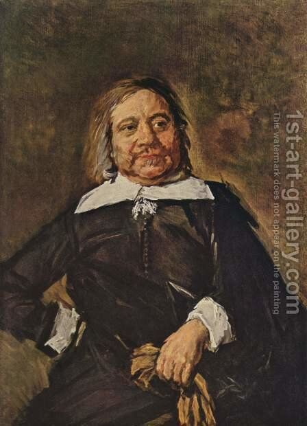 Willem Croes  1662-66 by Frans Hals - Reproduction Oil Painting
