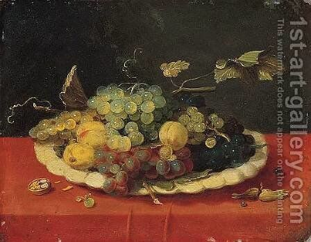 Still-Life with Fruit by Jan van Kessel - Reproduction Oil Painting