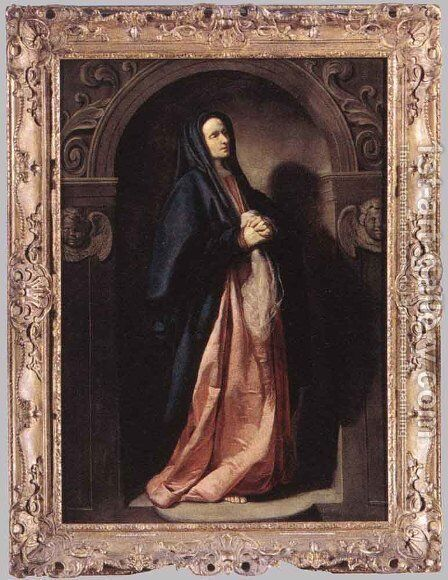 Virgin Mary 1630 by Thomas De Keyser - Reproduction Oil Painting