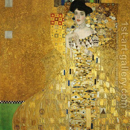 Adele Bloch-Bauer I  1907 by Gustav Klimt - Reproduction Oil Painting
