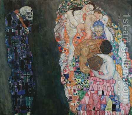 Death and Life 1911 by Gustav Klimt - Reproduction Oil Painting